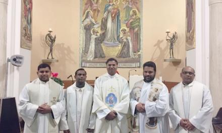 Pastoral Visitation of Definitor General Fr. Jahannes Gorantla OCD