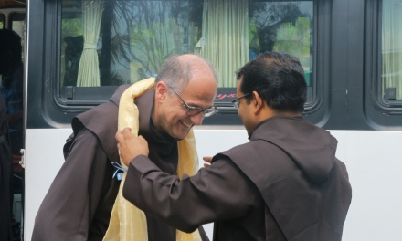 The visit of Fr. General and definitors to the South Kerala Province of St. Joseph's OCD