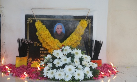 First death anniversary of Rev. Fr. Romeus OCD