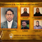 Congratulations to the New Provincial and Councillors South Kerala Province of St. Joseph OCD