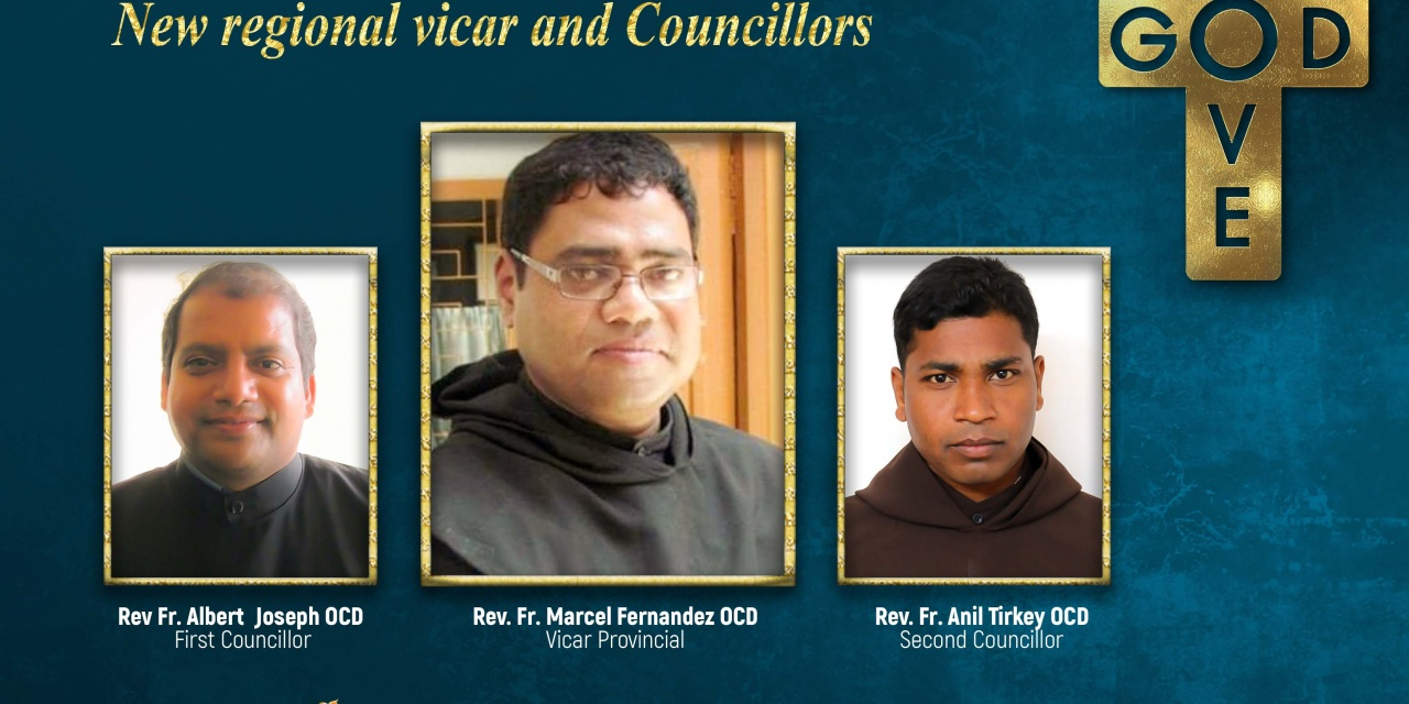 Congratulations to the new regional vicar and councillors