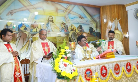 The Feast Day Celebrations of Very Rev. Fr. Varghese Maliakkal OCD, the Provincial Superior of South Kerala Province.