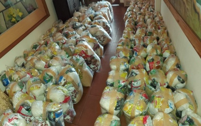 Food kits to the poor by the South Kerala Province