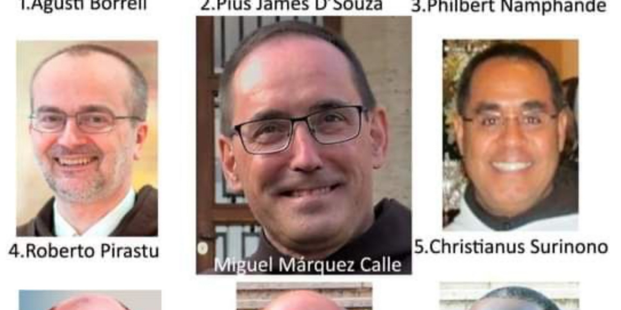 Congratulations and prayerful wishes to the new General Curia administrators